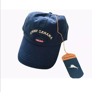 Tommy Bahama Hat Navy Blue Mens Hat One Size